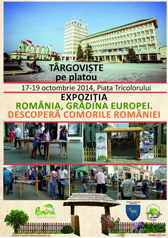 bun AFIS EXPOZITIE TARGOVISTE - 17-19 octombrie 2014 (