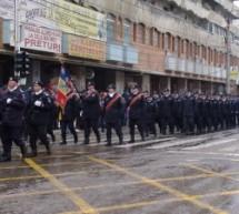 """LA MULȚI ANI, ROMÂNIA"", ROSTIT ȘI LA TÂRGOVIȘTE"