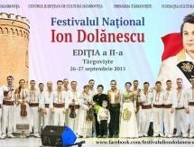 26-27 SEPTEMBRIE, TÂRGOVIŞTE: FESTIVALUL NAŢIONAL ION DOLĂNESCU