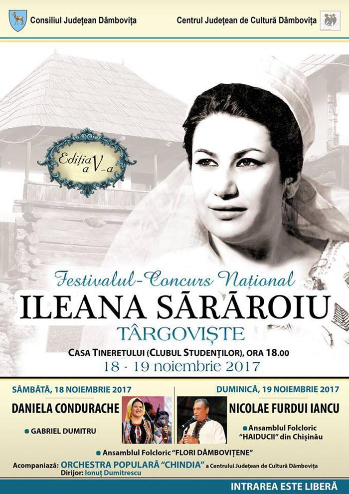 Festival concurs Național Ileana Sărăroiu Târgoviște