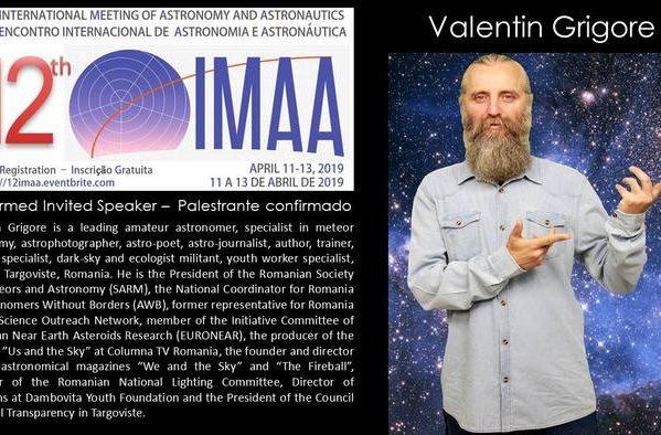 MUNICIPIUL TÂRGOVIŞTE – REPREZENTAT LA CONGRESUL MONDIAL DE ASTRONOMIE ŞI ASTRONAUTICĂ DIN BRAZILIA