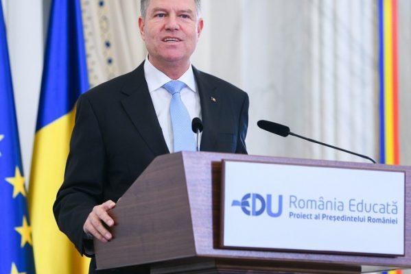 """""""ROMÂNIA EDUCATĂ"""", PROIECTUL PREŞEDINTELUI IOHANNIS, LA ANIVERSAREA A 100 DE ANI DE ÎNVĂŢĂMÂNT UNIVERSITAR ROMÂNESC LA CLUJ NAPOCA"""