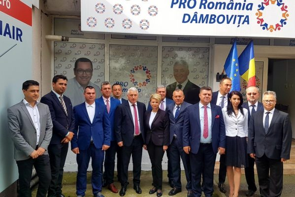 PRO ROMÂNIA DÂMBOVIŢA ÎŞI PREZINTĂ CANDIDAŢII PENTRU PRIMĂRII