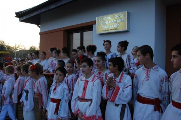 CENTRU DE INFORMARE TURISTICĂ, LA ANINOASA