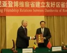 ADRIAN ŢUŢUIANU, ÎN CHINA: ÎNŢELEGERE DE COOPERARE A JUDEŢULUI DE DÂMBOVIŢA CU REGIUNEA GUANGXI