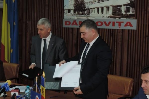 CONSILIUL JUDEŢEAN DÂMBOVIŢA, AJUTOR FINANCIAR PENTRU CONSTRUIREA UNEI GRĂDINIŢE ÎN REPUBLICA MOLDOVA
