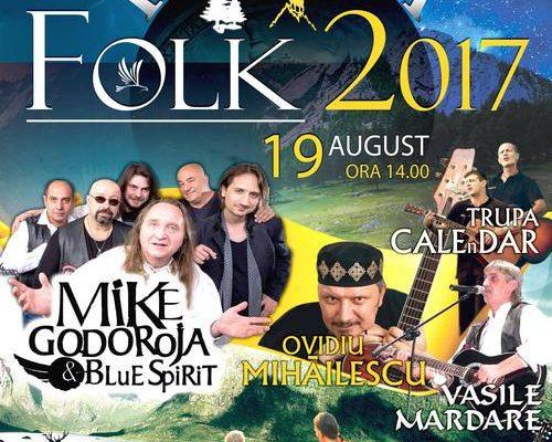 SÂMBĂTĂ, 19 AUGUST: PADINA FOLK, 2017 – MUZICĂ BUNĂ ÎNTR-UN DECOR NATURAL DE VIS