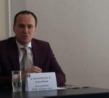 PNL DÂMBOVIŢA ARE UN REPREZENTANT PE LISTA CANDIDAŢILOR PARTIDULUI PENTRU PARLAMENTUL EUROPEAN: AURELIAN COTINESCU, PREŞEDINTELE PNL TÂRGOVIŞTE