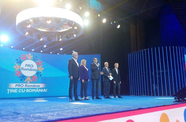 ALEGERI EUROPARLAMENTARE 2019: PRO ROMÂNIA ŞI-A PREZENTAT CANDIDAŢII PENTRU PARLAMENTUL EUROPEAN ŞI LA TÂRGOVIŞTE