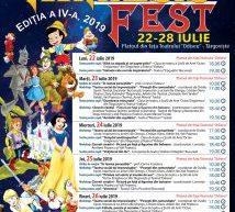 """TÂRGOVIŞTE – ÎN PERIOADA 22-28 IULIE, VA AVEA LOC CEA DE-A PATRA EDIŢIE A FESTIVALULUI DE TEATRU PENTRU COPII """"MIMESIS FEST"""""""