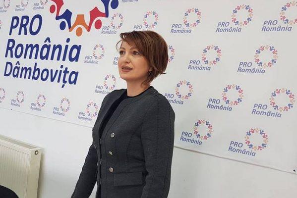 OANA VLĂDUCĂ, DEPUTAT PRO ROMÂNIA, CRITICI LA ADRESA GUVERNULUI PE TEMA DEFRIŞĂRILOR