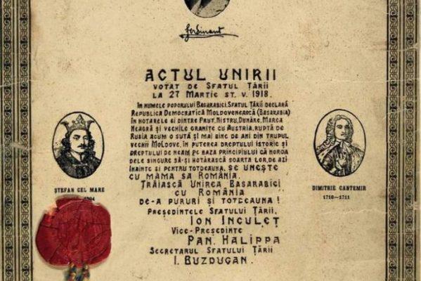 SENATORUL TITUS CORLĂŢEAN, LA ÎMPLINIREA A 103 DE LA UNIREA BASARABIEI CU ROMÂNIA: O PAGINĂ ÎNĂLŢĂTOARE DE ISTORIE ROMÂNEASCĂ