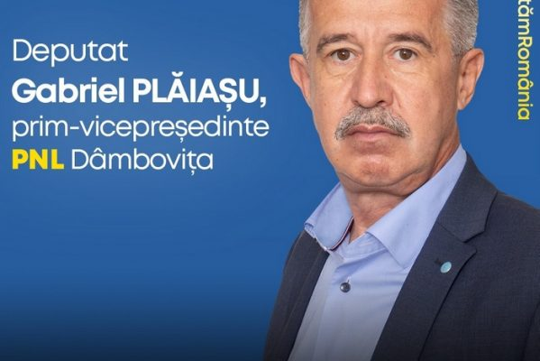 DEPUTAT PNL DE DÂMBOVIȚA GABRIEL PLĂIAȘU: NU VOI SUSȚINE O MAJORITATE CU PSD