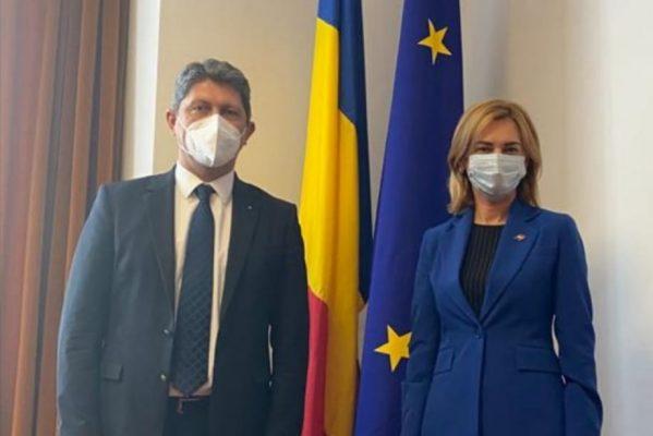 SENATORUL TITUS CORLĂȚEAN, ÎNTÂLNIRE CU PREȘEDINTELE COMISIEI PENTRU POLITICĂ EXTERNĂ ȘI INTEGRARE EUROPEANĂ DIN PARLAMENTUL REPUBLICII MOLDOVA