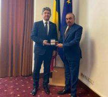 SENATORUL TITUS CORLĂȚEAN, ÎNTÂLNIRE CU AMBASADORUL STATULUI QATAR ÎN ROMÂNIA